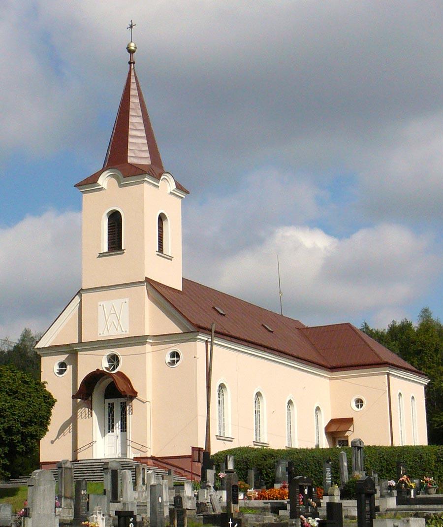 Evangelický kostel Havířov-Prostřední Suchá