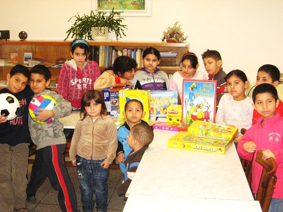 Volnočasový klub pro děti ve sborovém domě
