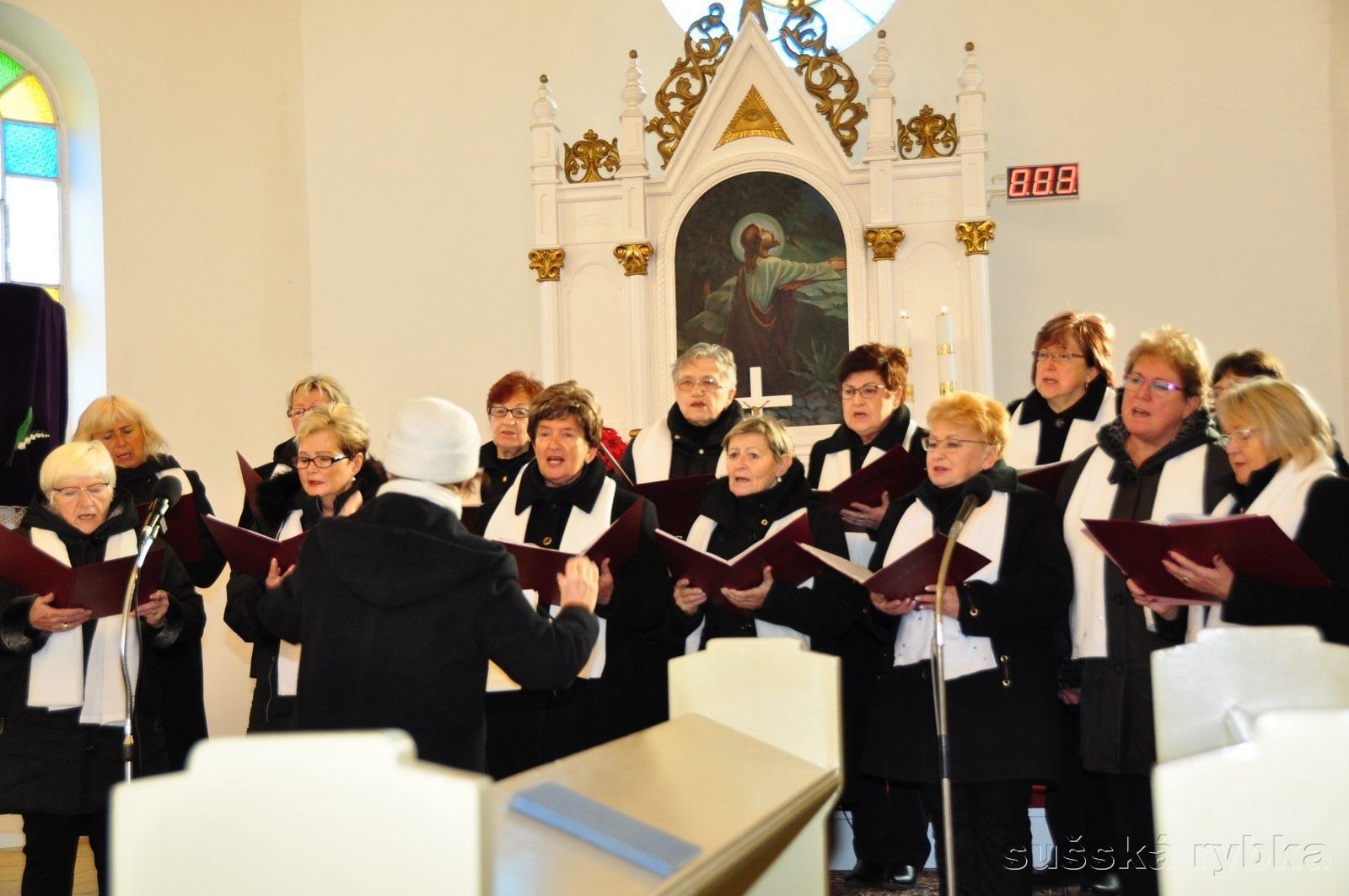 Adventní koncert pěveckého sboru Šárka