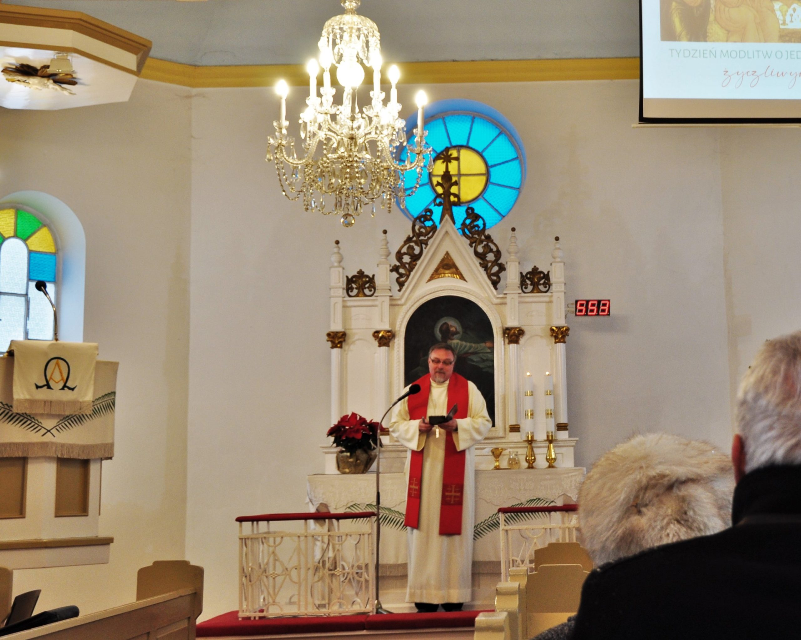 Volba sborového pastora
