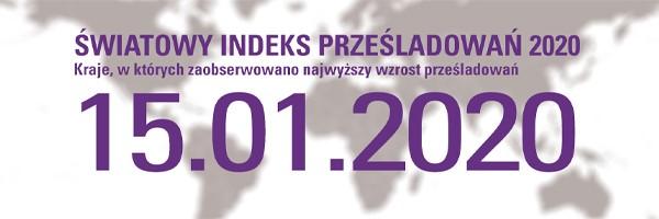 Światowy Indeks Prześladowań 2020