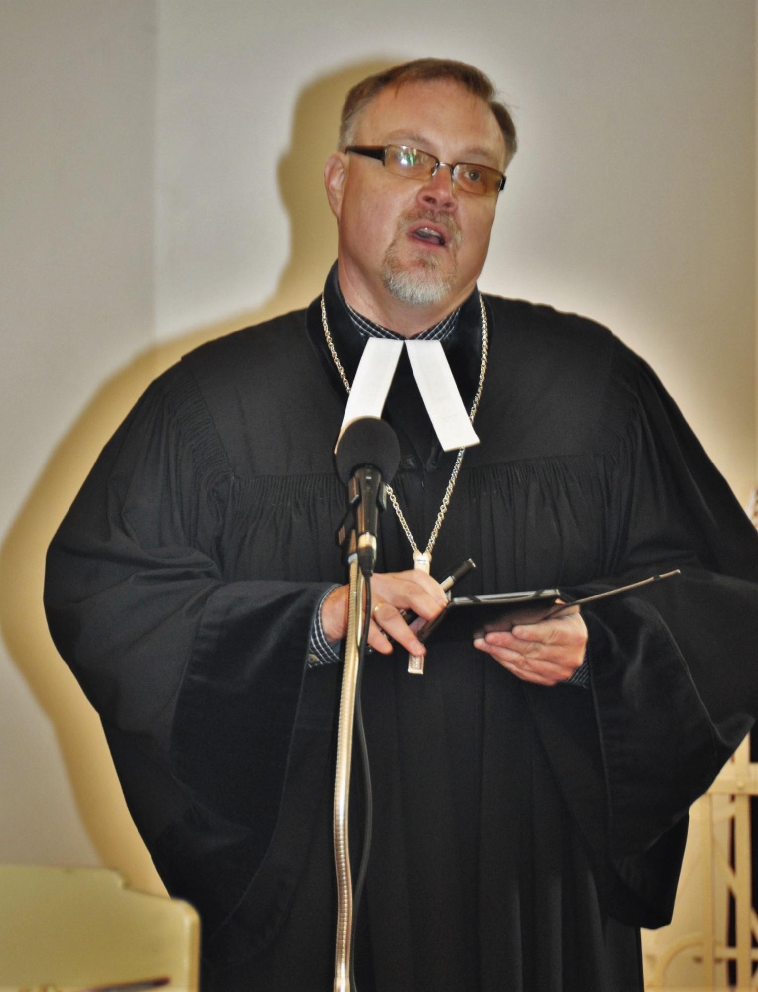 Zgłoszenie kandydatury na urząd pastora zboru
