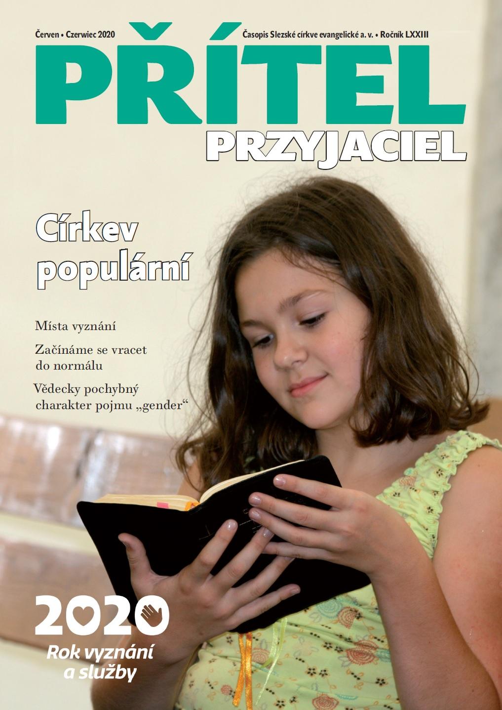 """Červnové číslo časopisu """"Přítel-Przyjaciel"""""""
