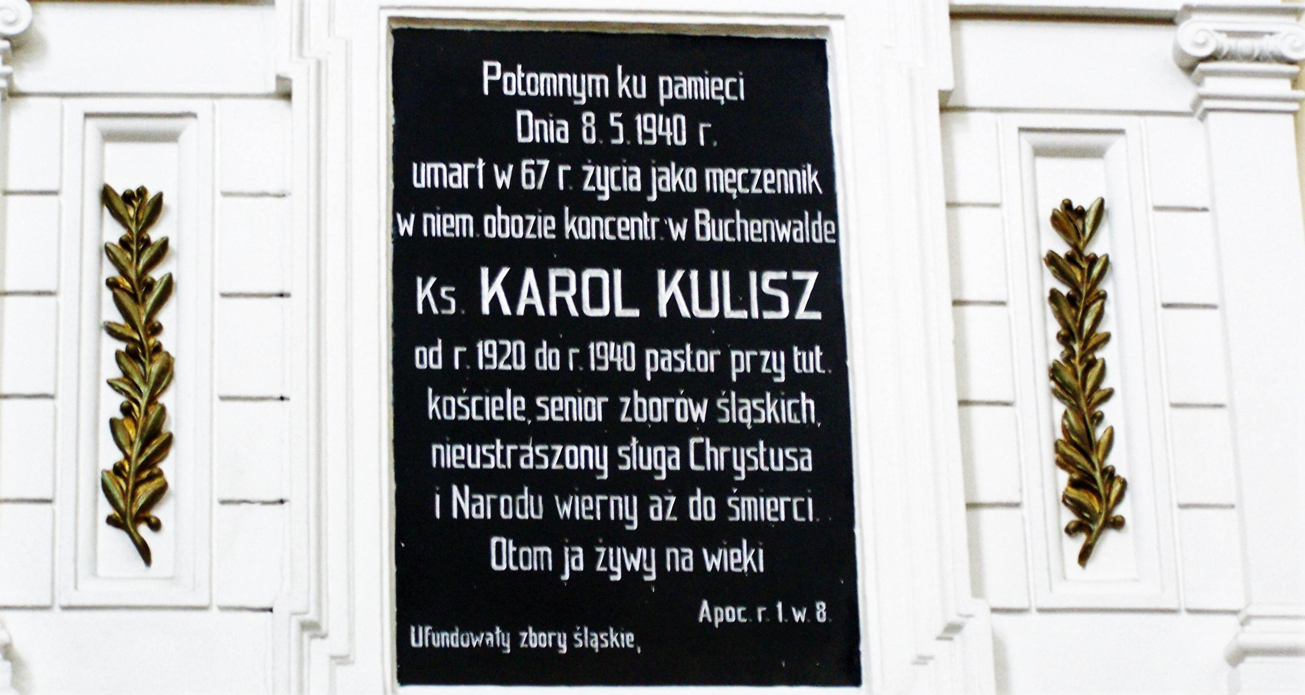 80. rocznica śmierci ks. Karola Kulisza