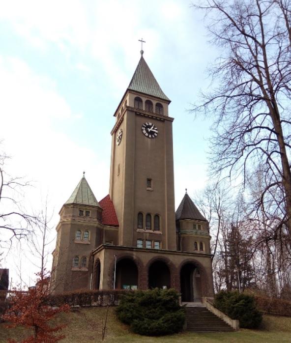 Kostel ČCE Na Rozvoji