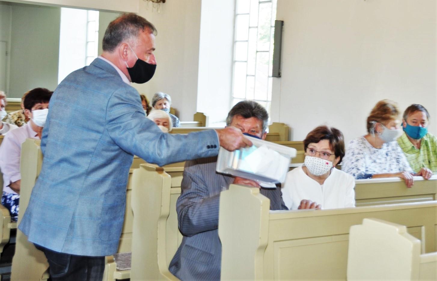 Památka posvěcení kostela a volba pastora