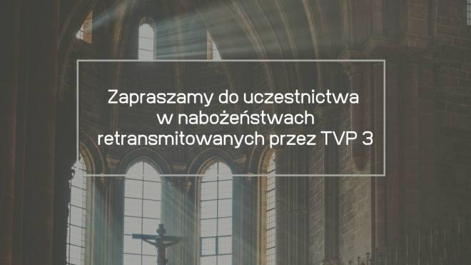 Nabożeństwa w TVP3