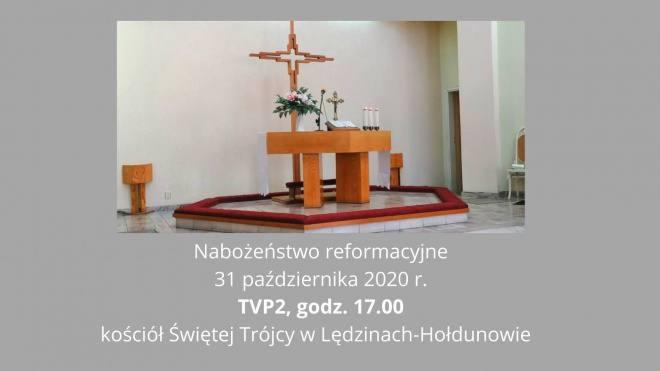 Nabożeństwo reformacyjne z Hołdunowa
