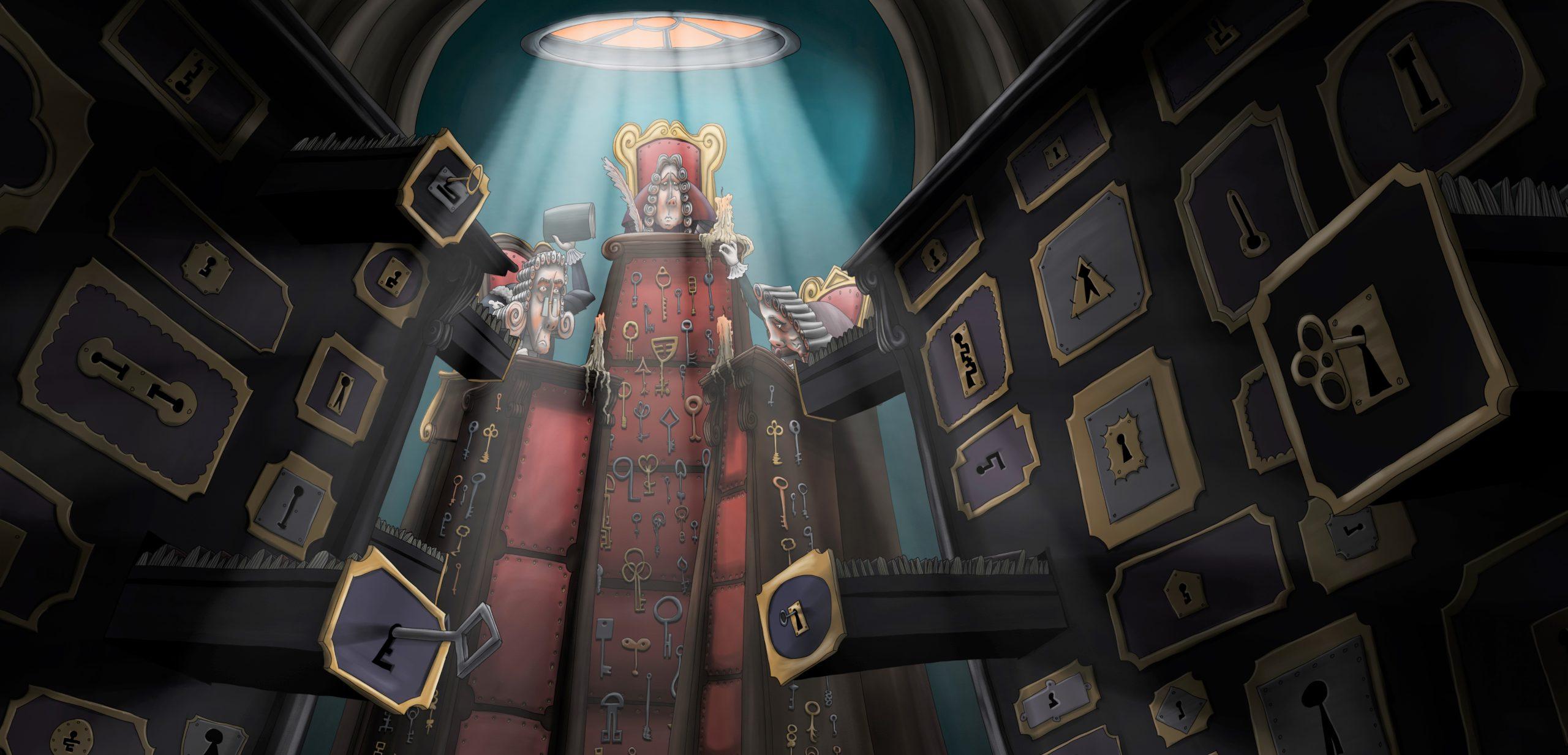 Vzniklo první animované zpracování Komenského Labyrintu světa a ráje srdce