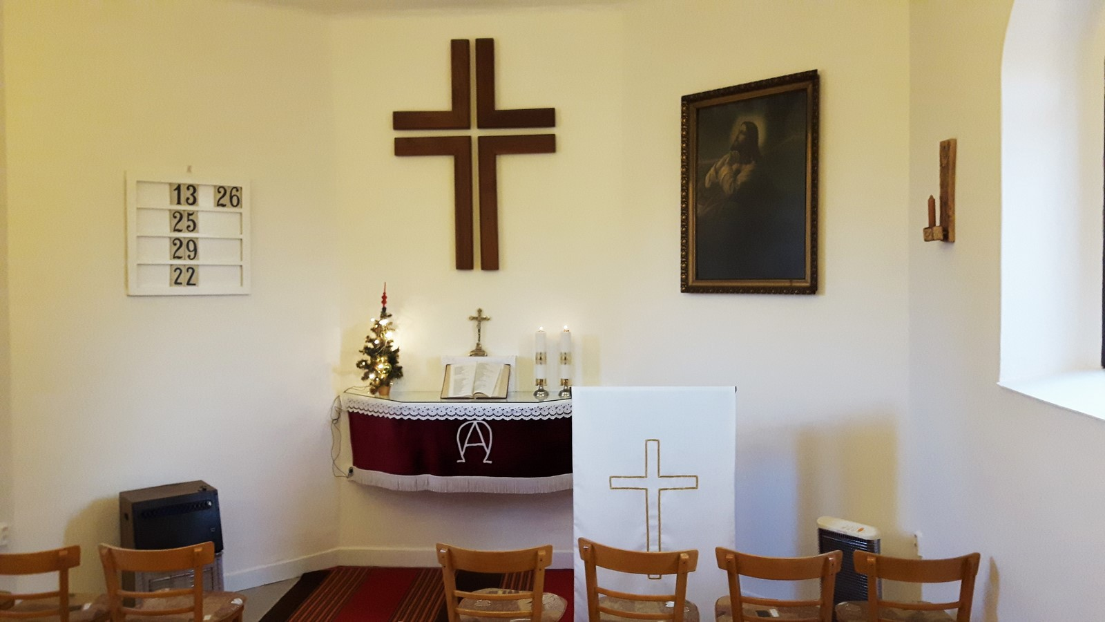 Vánoční bohoslužby v kapli v Horní Suché se ruší