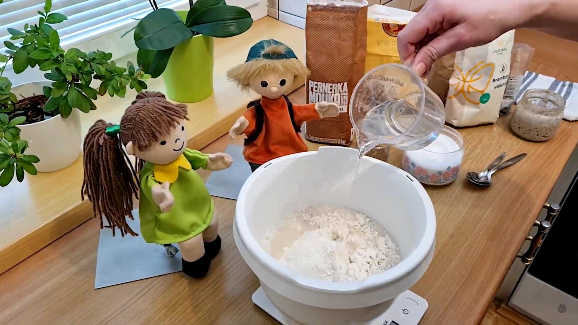V kuchyni s Petrou a Vítkem