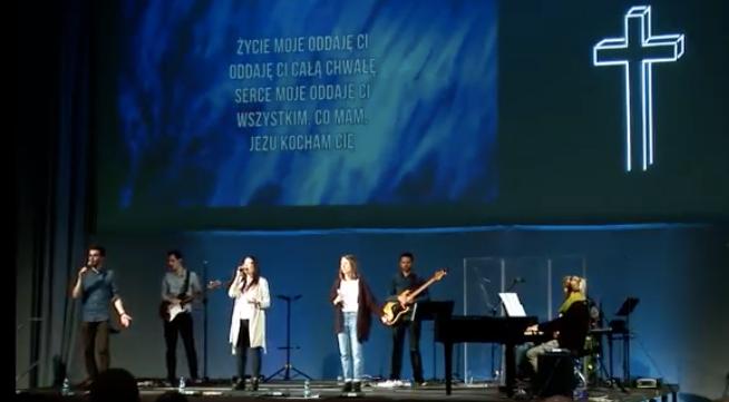 Niedzielne nabożeństwo w TVP3 emitowane z SCh Północ w Warszawie
