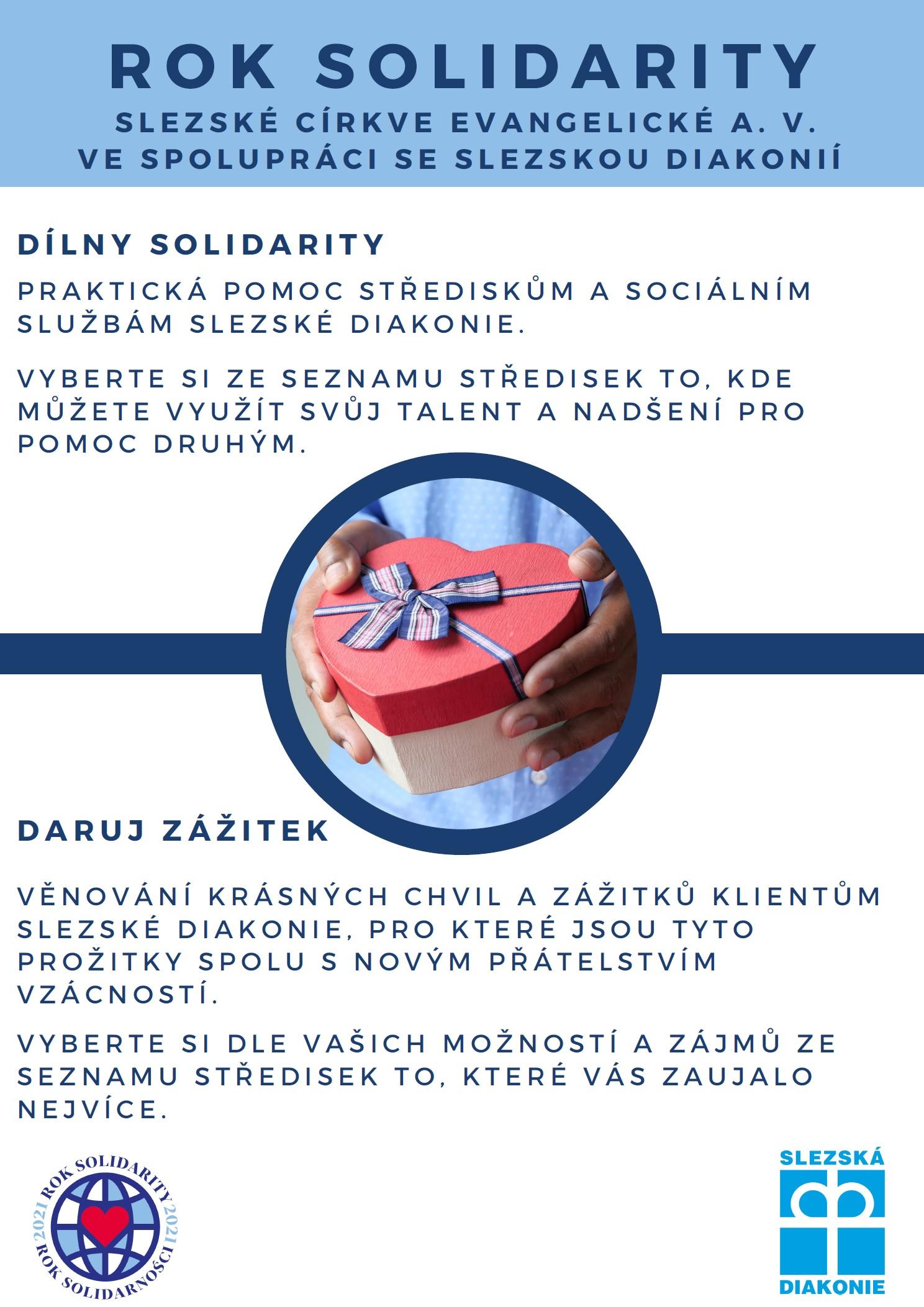 Praktické projekty v rámci Roku solidarity