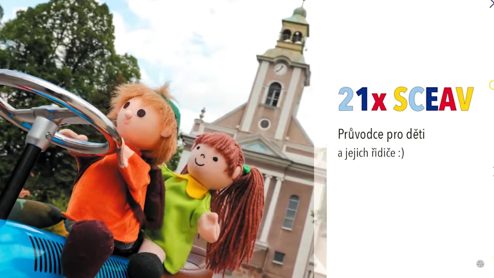 21 x SCEAV – Průvodce pro děti a jejich řidiče