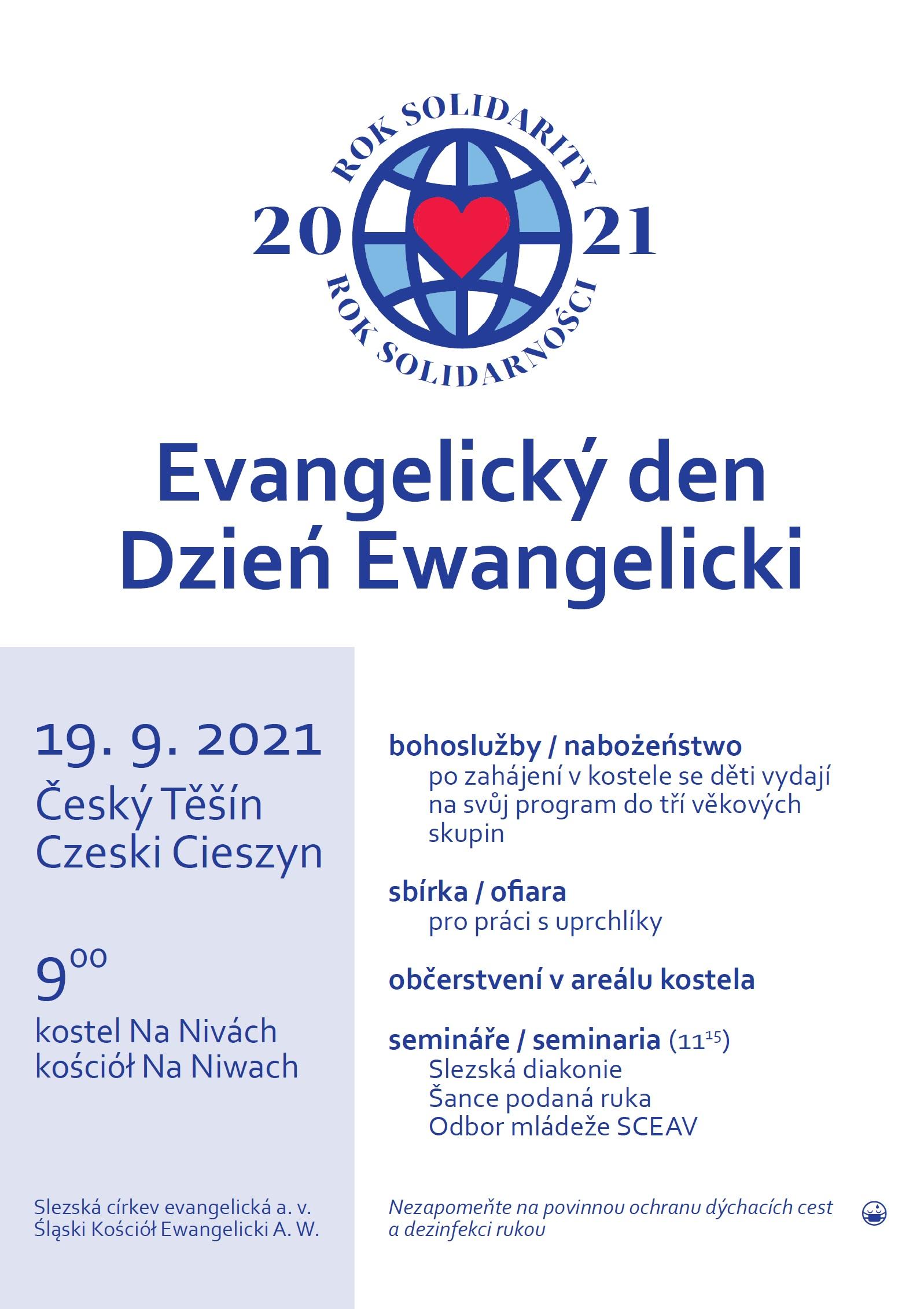 Evangelický den 2021
